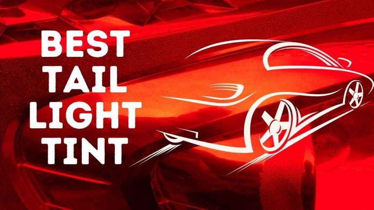 best tail light tints
