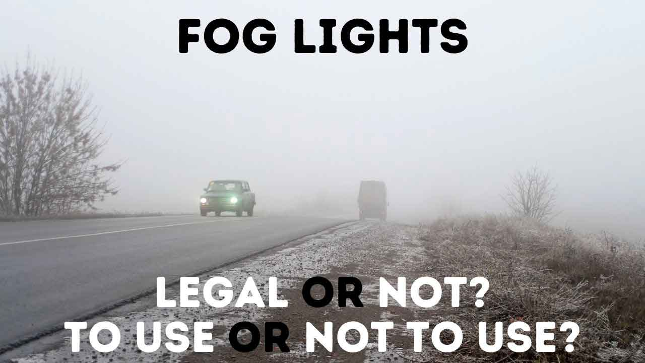 when to use fog light?