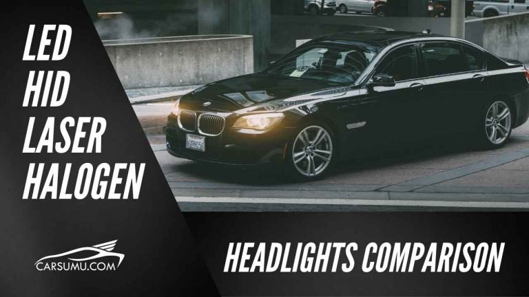 led vs halogen vs hid vs laser headlights