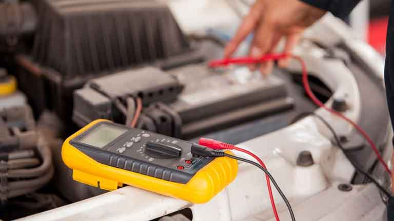 calculating the charge left in car battery